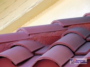 red tile barrel roof