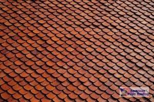 ceramic scalloped tile