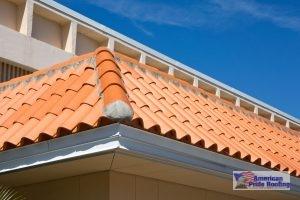orange concrete tile roof