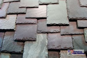slate tiles in different colors