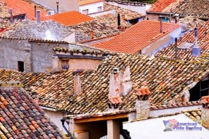 spanish tile on spanish roofs